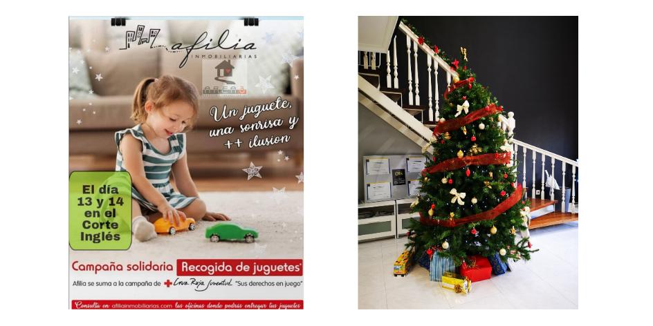�rbol de Navidad en Colindres, Santander, Laredo